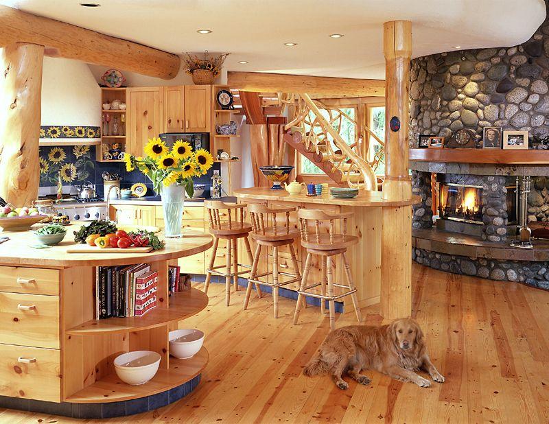 Murray Arnott Design Log Home Kitchen Dream Home Pinterest