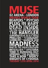 Image result for gig poster at o2