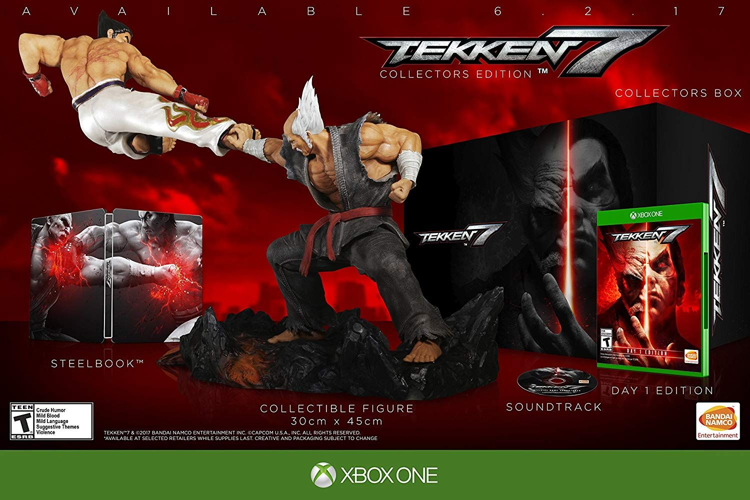 Tekken 7 Collector S Edition Xbox One Collector S Edition With