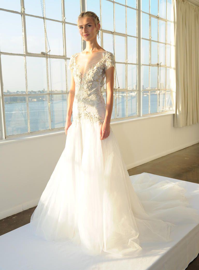 See Marchesa\'s Elegant Glam Wedding Dresses for 2016 | Marchesa ...