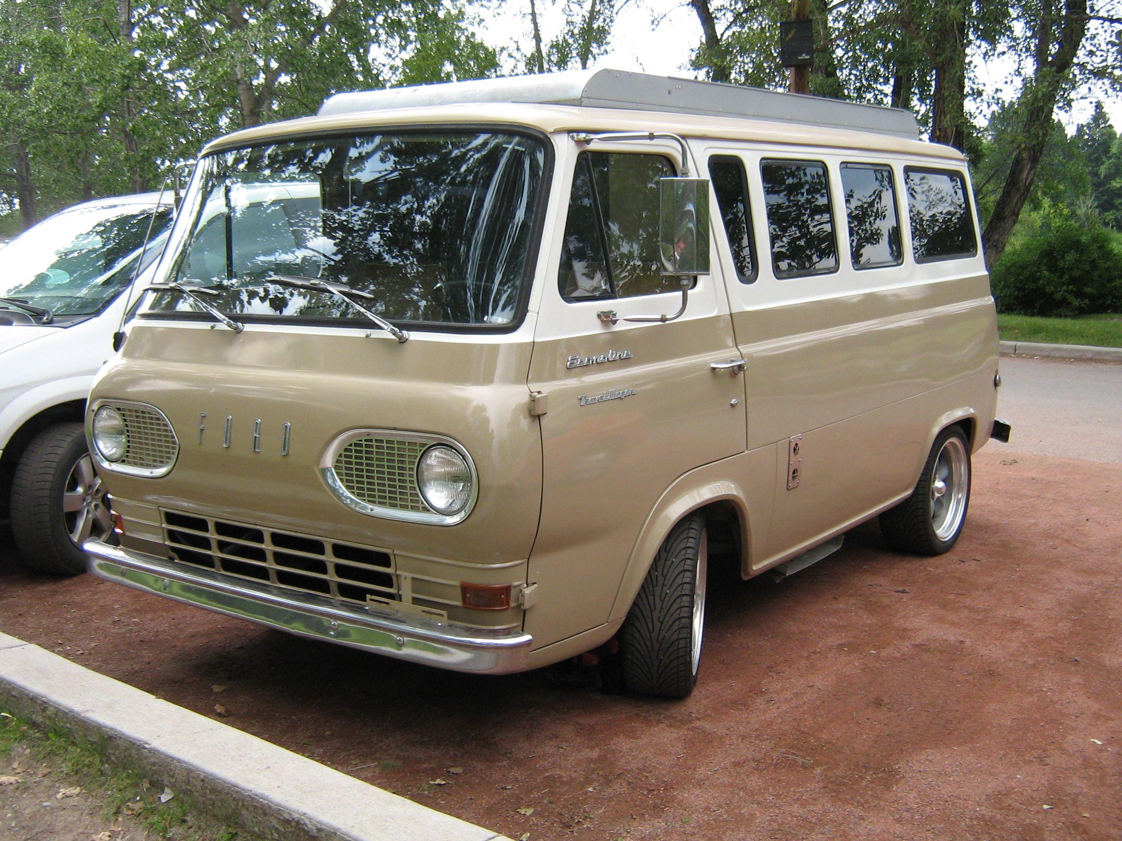 Loudpop Voyager Ford E Series Vintage Vans Ford Van