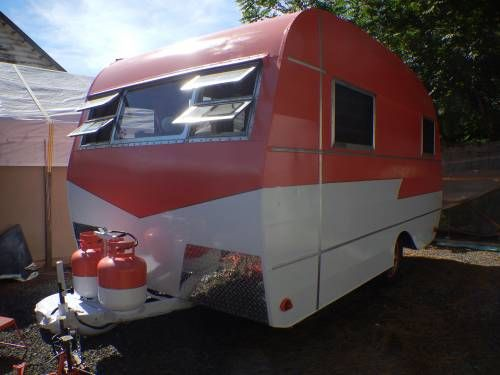 Restored Vintage 16 Ft 1949 Columbia Invader Travel Trailer