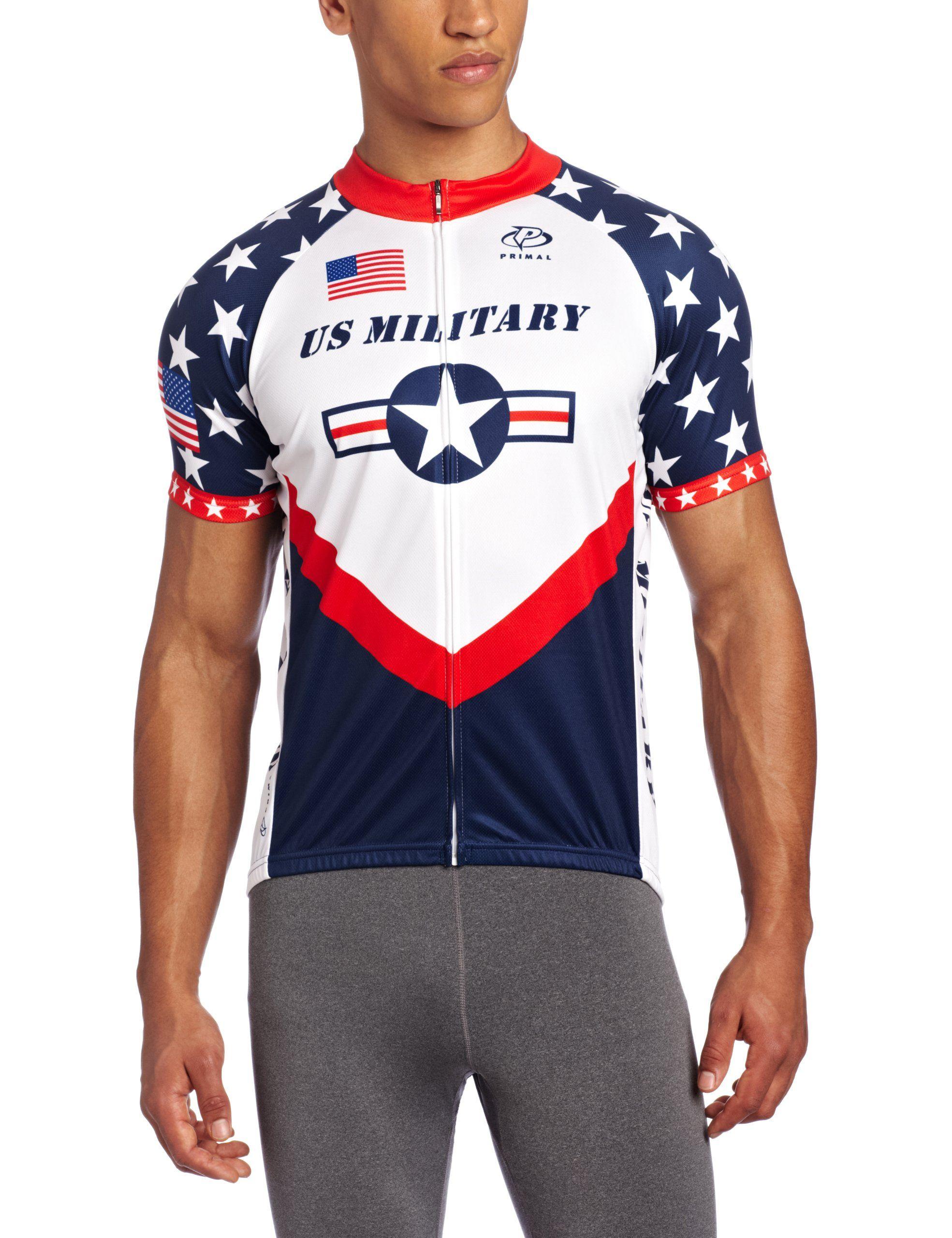 cec0b8129 Primal Wear Men s U.S. Military Team Cycling Jersey