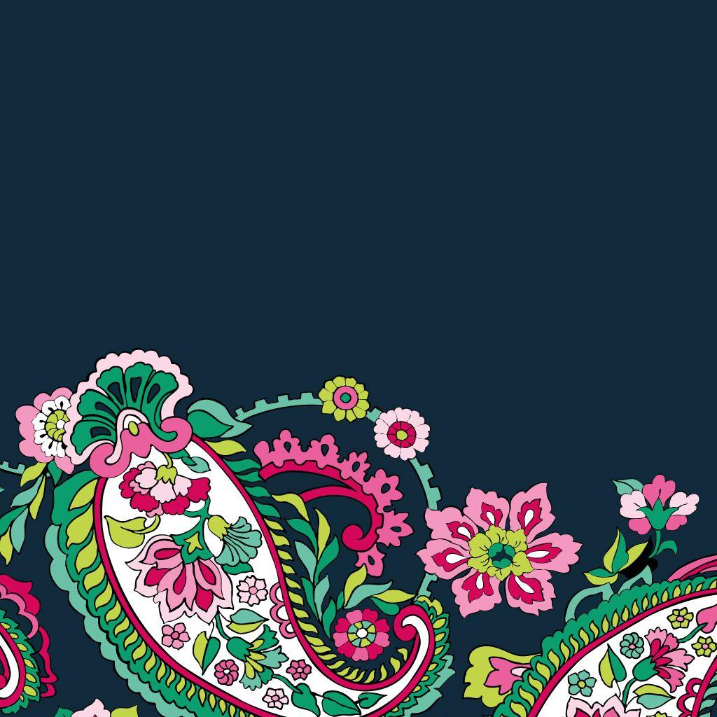 Dress Your Tech Petal Paisley Tablet Wallpaper Vera