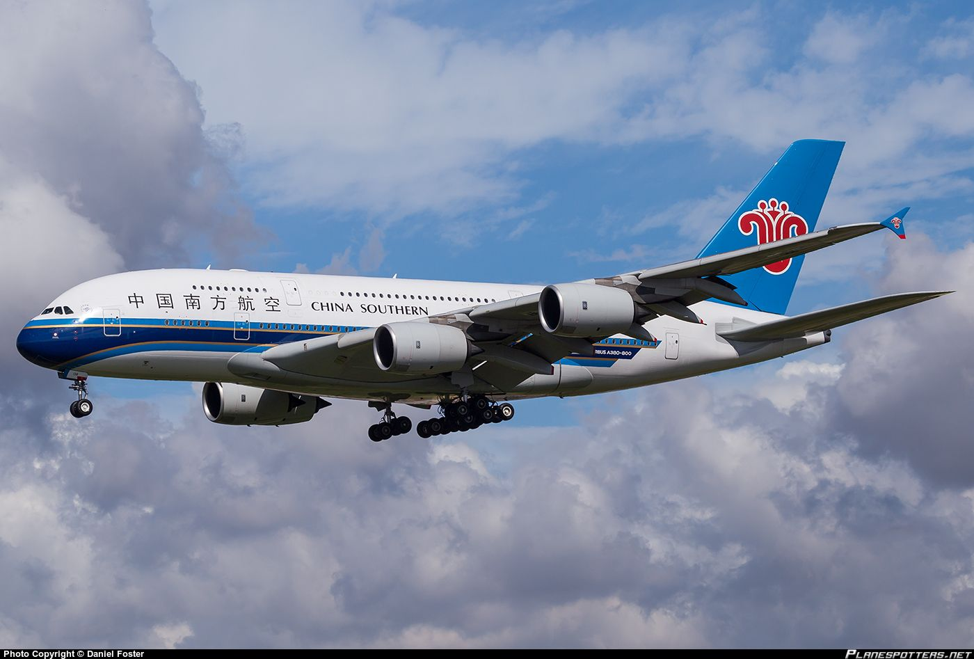 B6138 China Southern Airlines Airbus A380841.. Vliegtuig