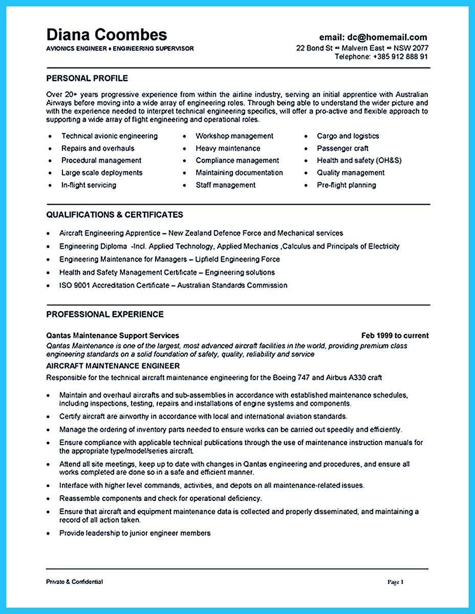 Cool Convincing Design And Layout For Aircraft Mechanic Resume Http Snefci Org Convincing Design Layout Air Resume Skills Resume Examples Engineering Resume