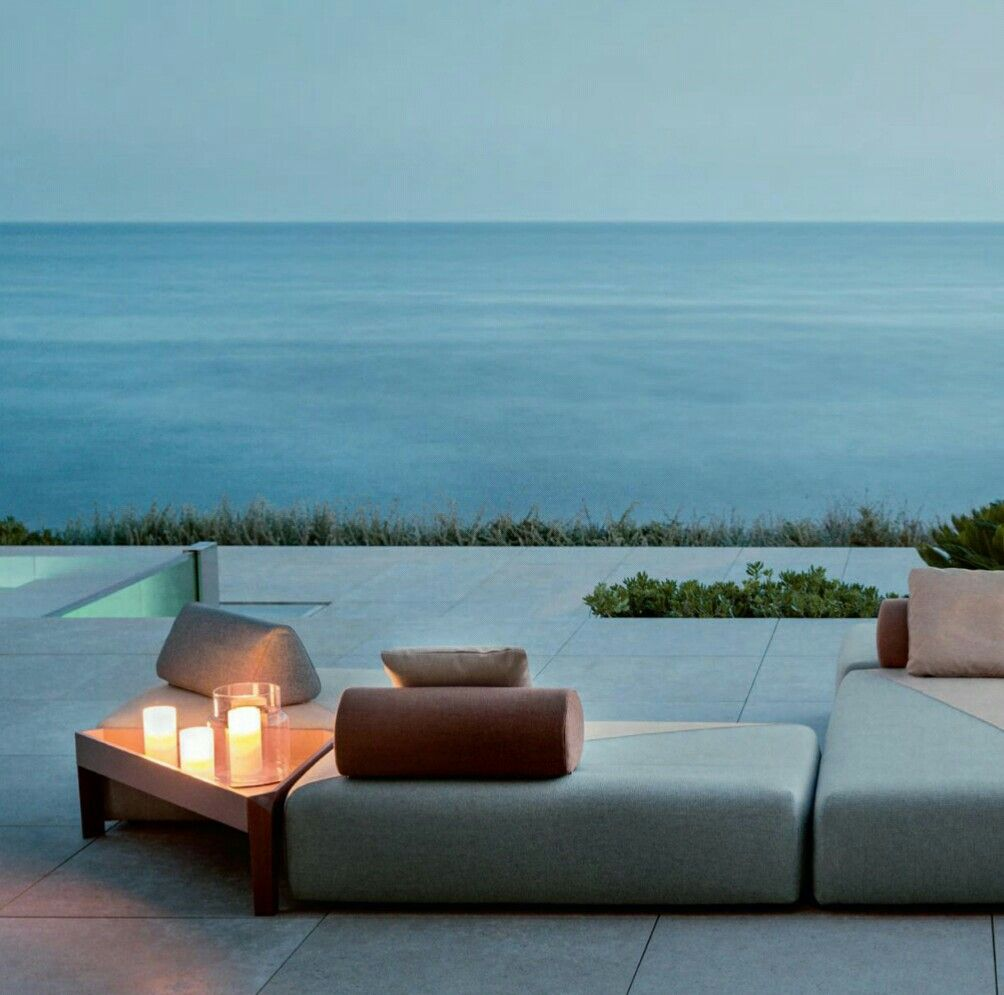 DEDON BRIXX Outdoor Loungegruppe, Gartensofa Loungemodule | Outdoor |  Pinterest