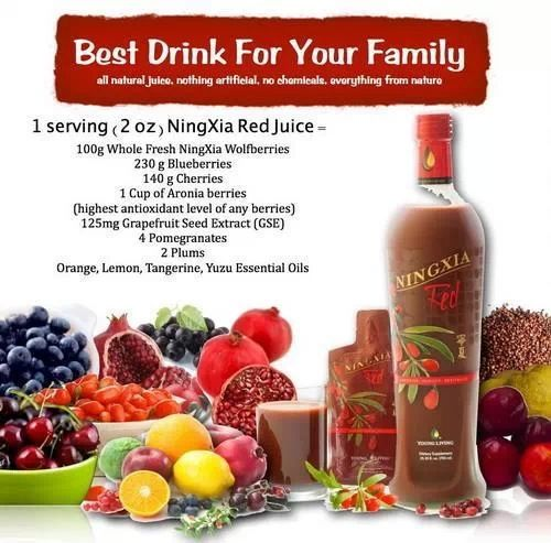 Ningxia Red Is An Amazing Goji Wolfberry And Essential Oils Juice