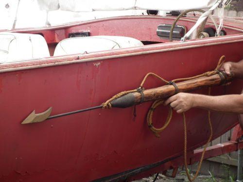 6/' Whaling Harpoon nautical decor