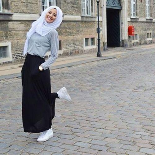 Robe femme avec hijab