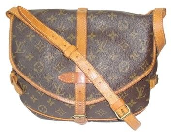 Louis Vuitton Lv Samur 30 Monogram Cross Body Bag $495