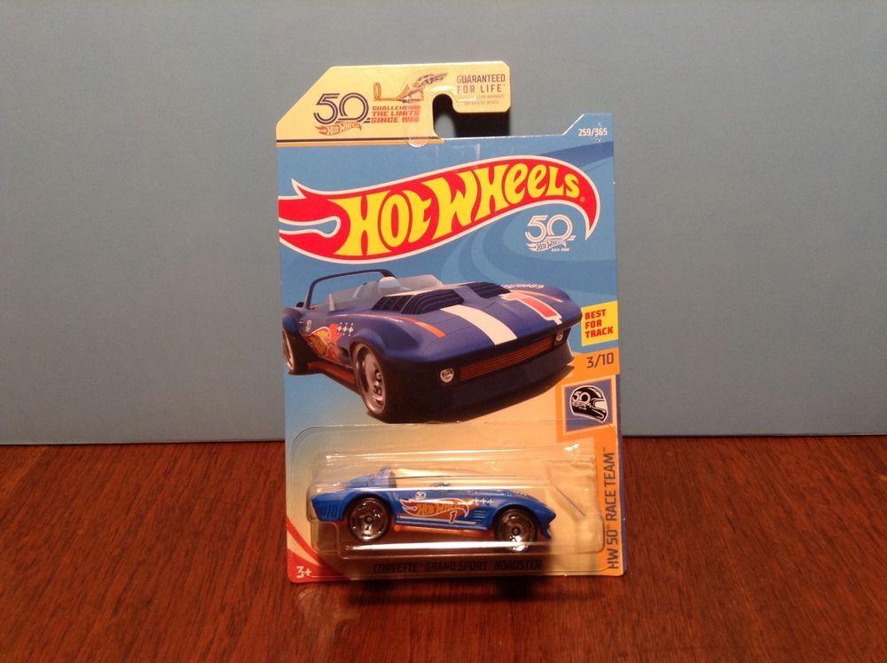 Hot Wheels Corvette Grand Sport Roadster 259 HW 50 Race