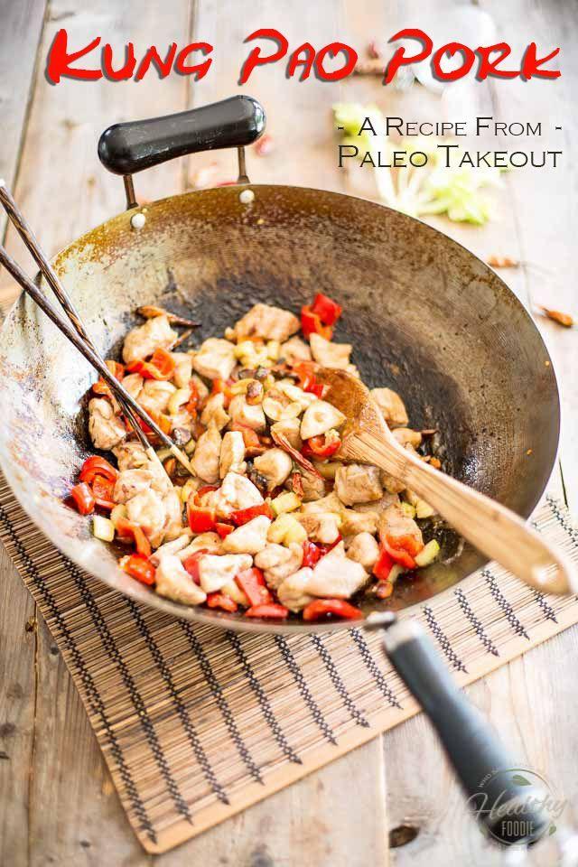 Paleo Kung Pao Pork | thehealthyfoodie.com