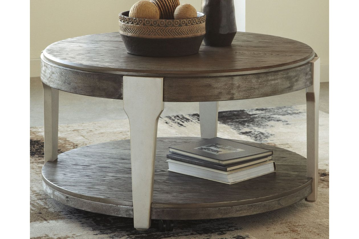 Brenzington Coffee Table With Images Coffee Table Round