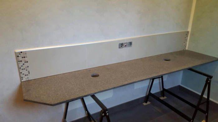 Aufmaß, Lieferung und Montage - Freiburg Nero Impala #Granit - küchenarbeitsplatten granit preise