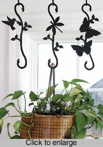Patio Plant Hanger S Hooks  I Want These!