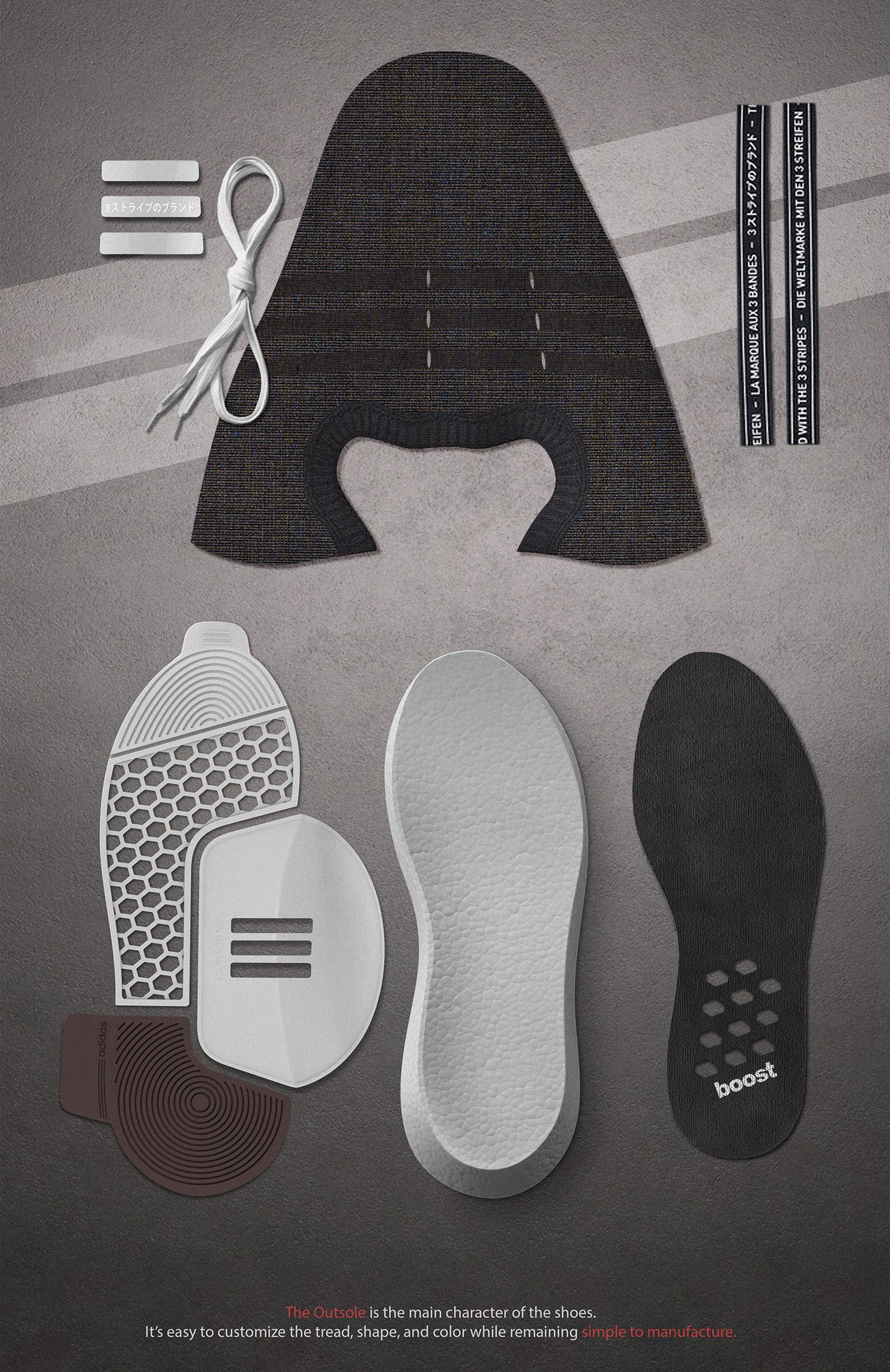 Adidas nmd omega sulla pinterest behance scarpe e pinterest sulla omega 160233