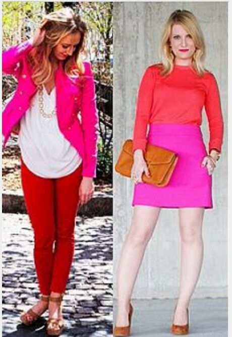 Fashion , moda , woman , red, fucsia