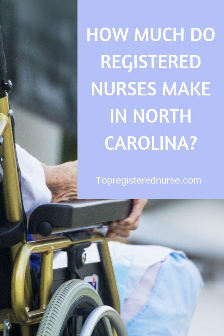 How much do registered nurses make in north carolina