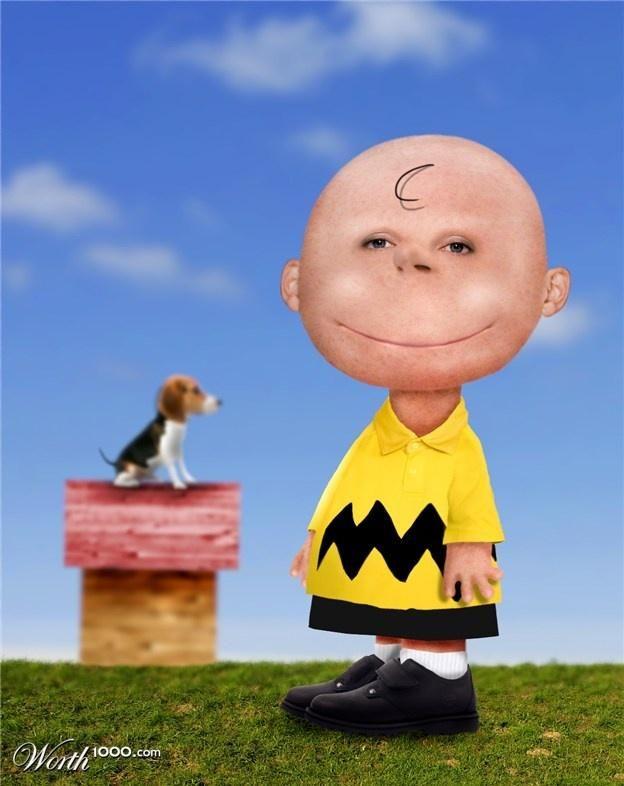 Cartoon Characters In Real Life Charlie Brown Cartoon