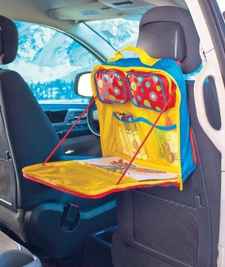 Portable Art Travel Valet/Desk Combo Kids Backseat Car Tray. For your  budding artist - Portable Art Travel Valet/Desk Combo Kids Backseat Car Tray. For