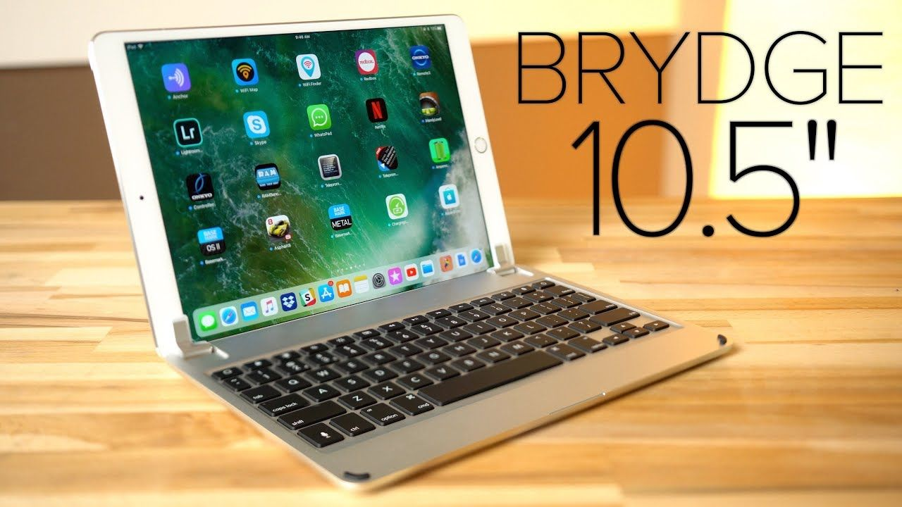 Closest youll get to a macbook brydge 105 ipad pro