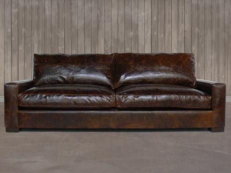 Peachy The Braxton Twin Cushion Leather Sofa Full Grain Leather Pdpeps Interior Chair Design Pdpepsorg