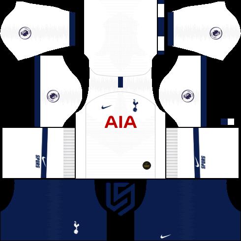 Tottenham Hotspur Kit 19 2020 Dream League Soccer 2019 Tottenham Hotspur Tottenham Soccer