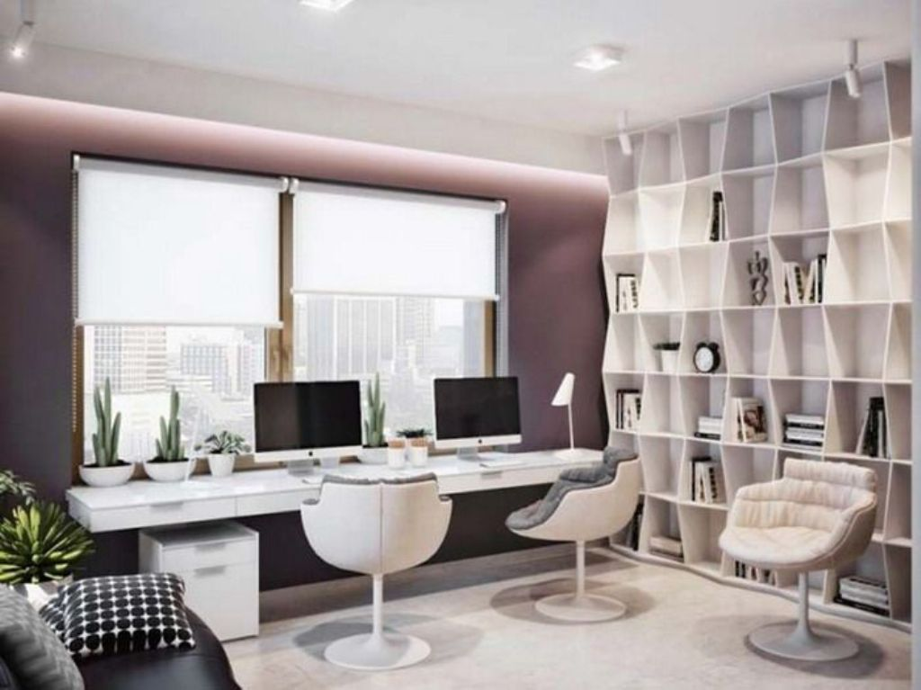How to Combine Modern and Classic Ideas for Decorating a Home Office