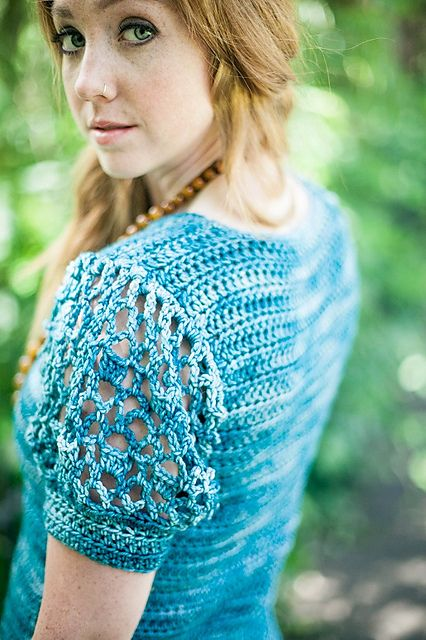 Ravelry: Puff Sleeve Pullover pattern by Rohn Strong
