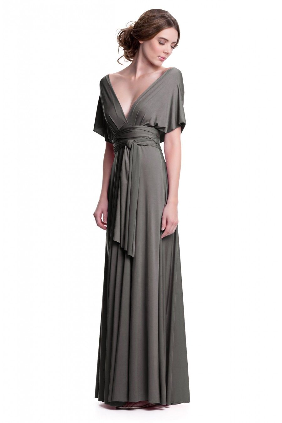 Maxi plus convertible dress