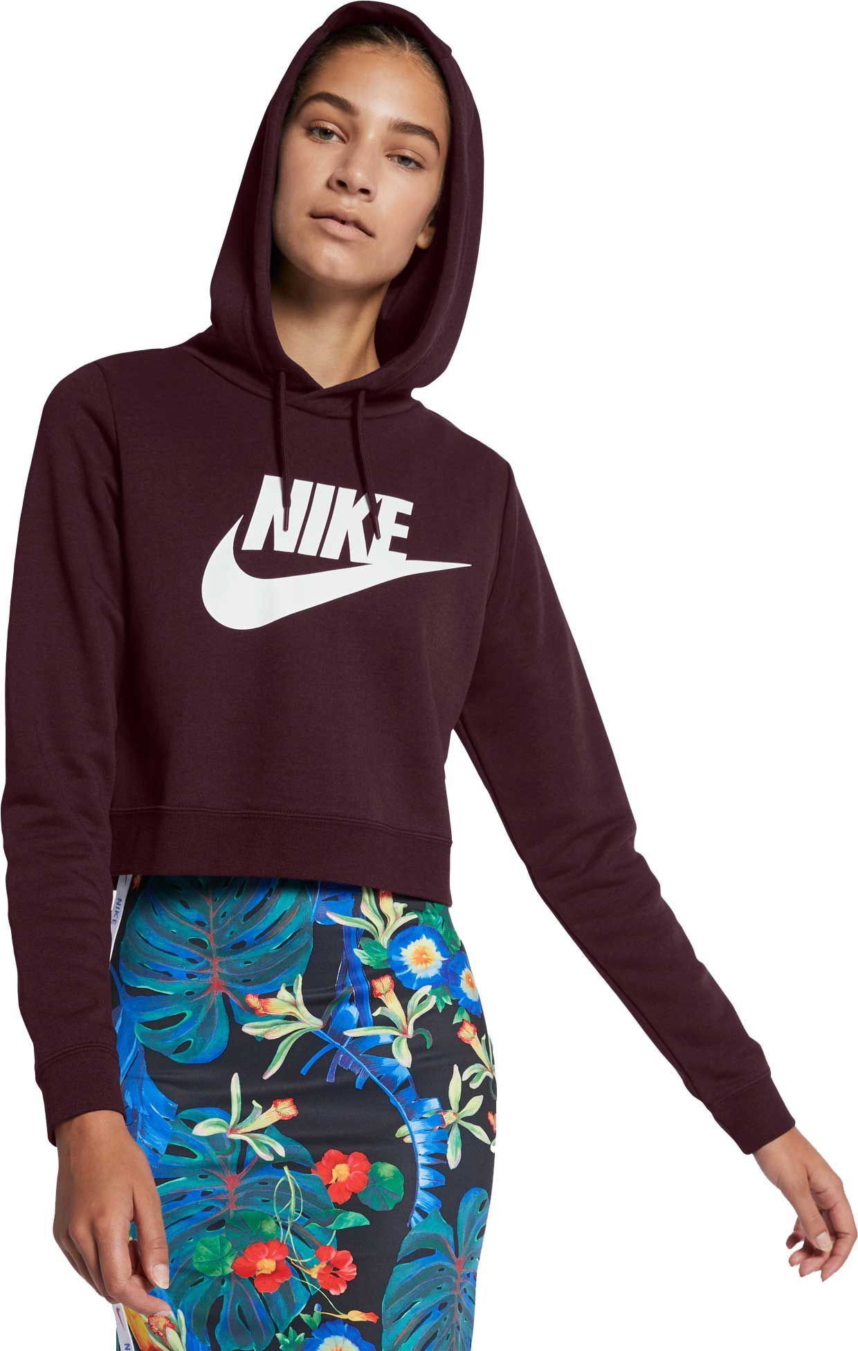 4f3b7af66 Nike Women's Sportswear Rally Cropped Hoodie | DICK'S Sporting  GoodsProposition 65 warning iconProposition 65 warning icon