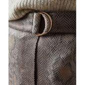 Photo of Snake-effect wrap skirt Ted BakerTed Baker Snake-effect wrap skirt