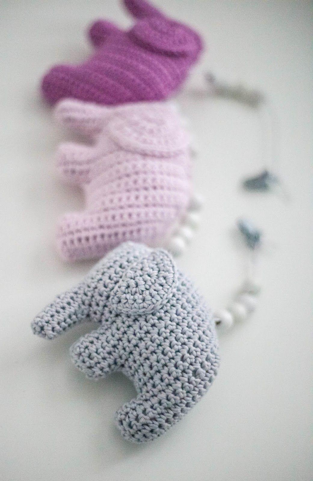 virkattu norsu   Knitting and crocheting for kids   Pinterest ...