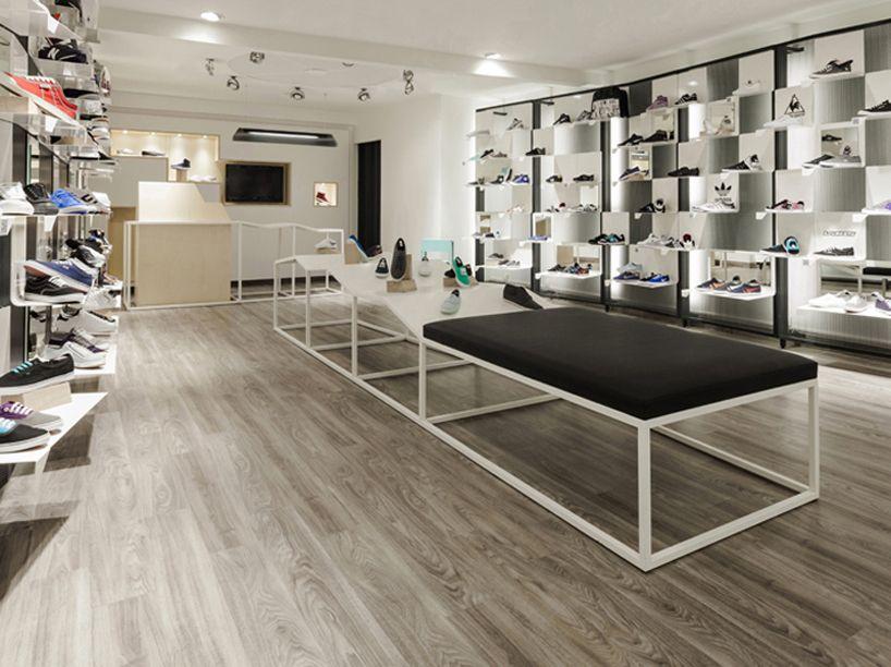 Trust In Design Code Shoe Store Store Layout Design Shop