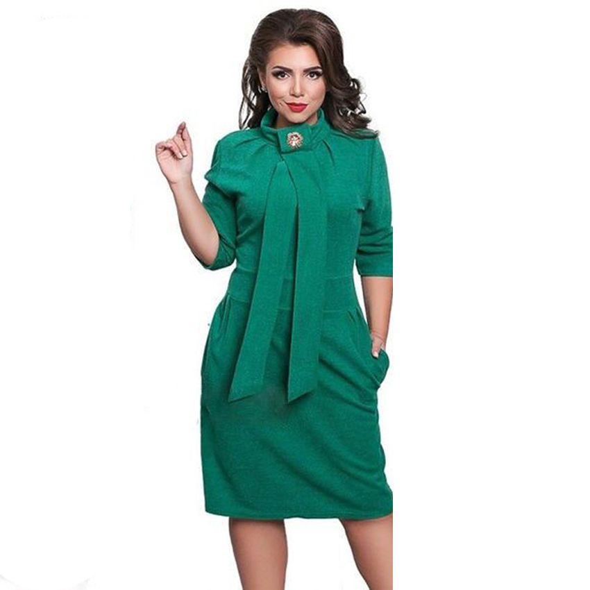 2017 New Designer Dress Women Plus Size Vestidos Felame Ladies ...