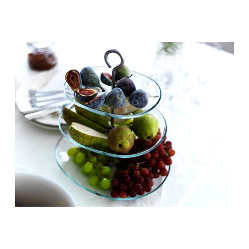 Us Furniture And Home Furnishings Serving Platters Ikea Tiered Cake Stands