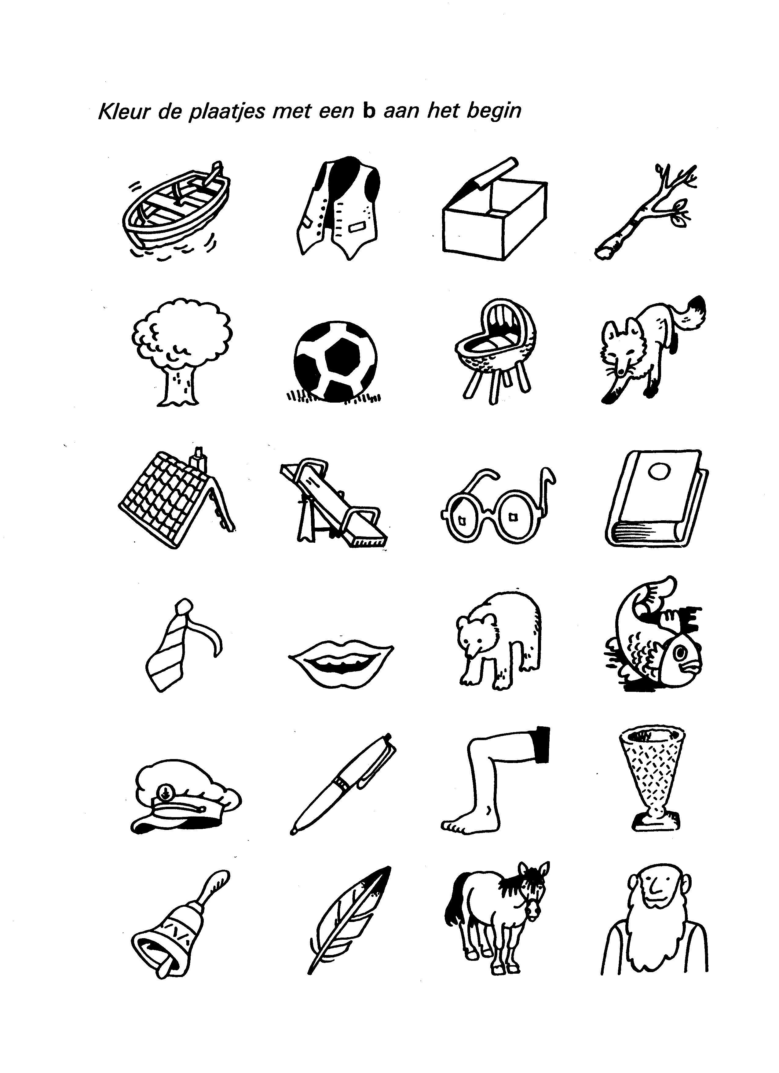 werkblad letters zoeken werkbladen