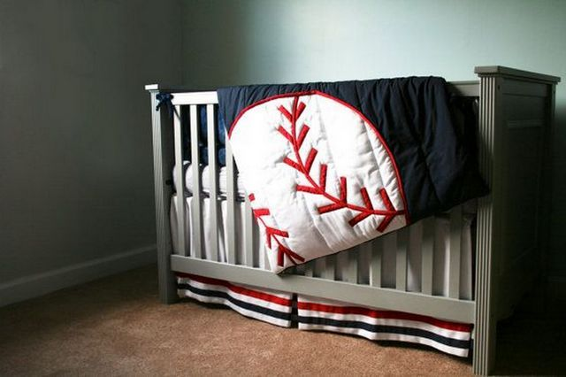 Baseball Crib Bedding Related Search For This Article