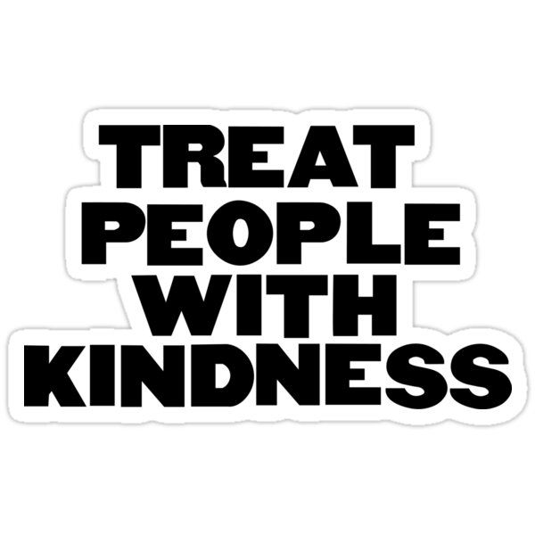 'Harry Styles 'Fine Line, 'Treat People With Kindness'' Sticker by abbykolody