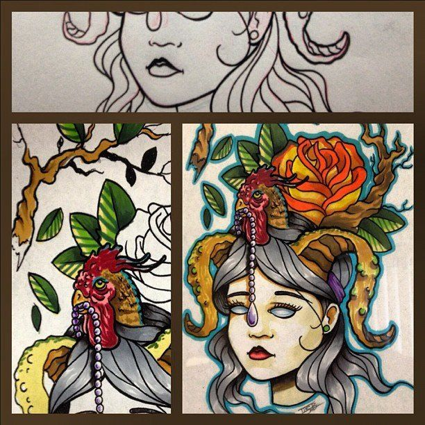 Custom art by mike bush