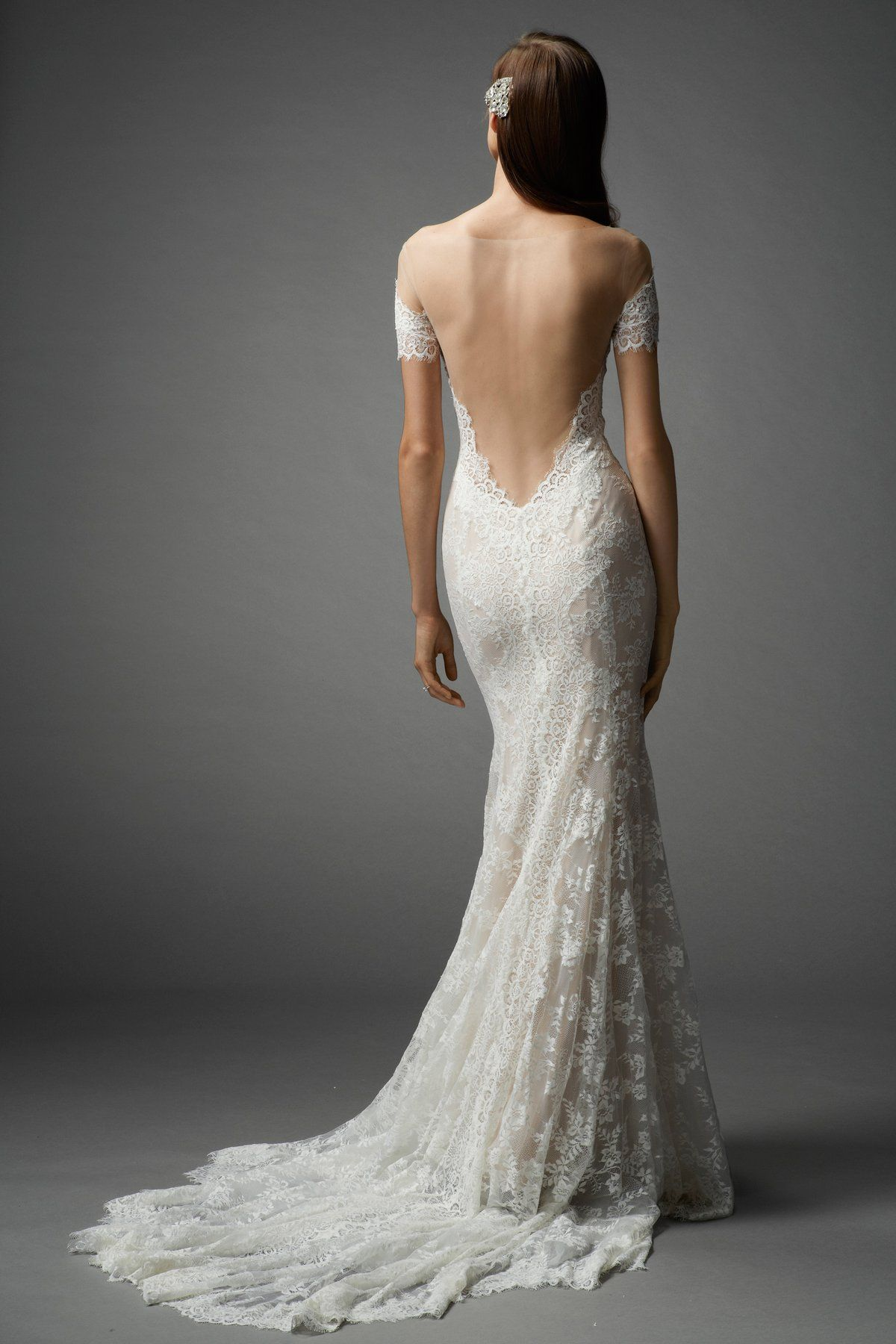 backless lace wedding dresses wedding dresses trend