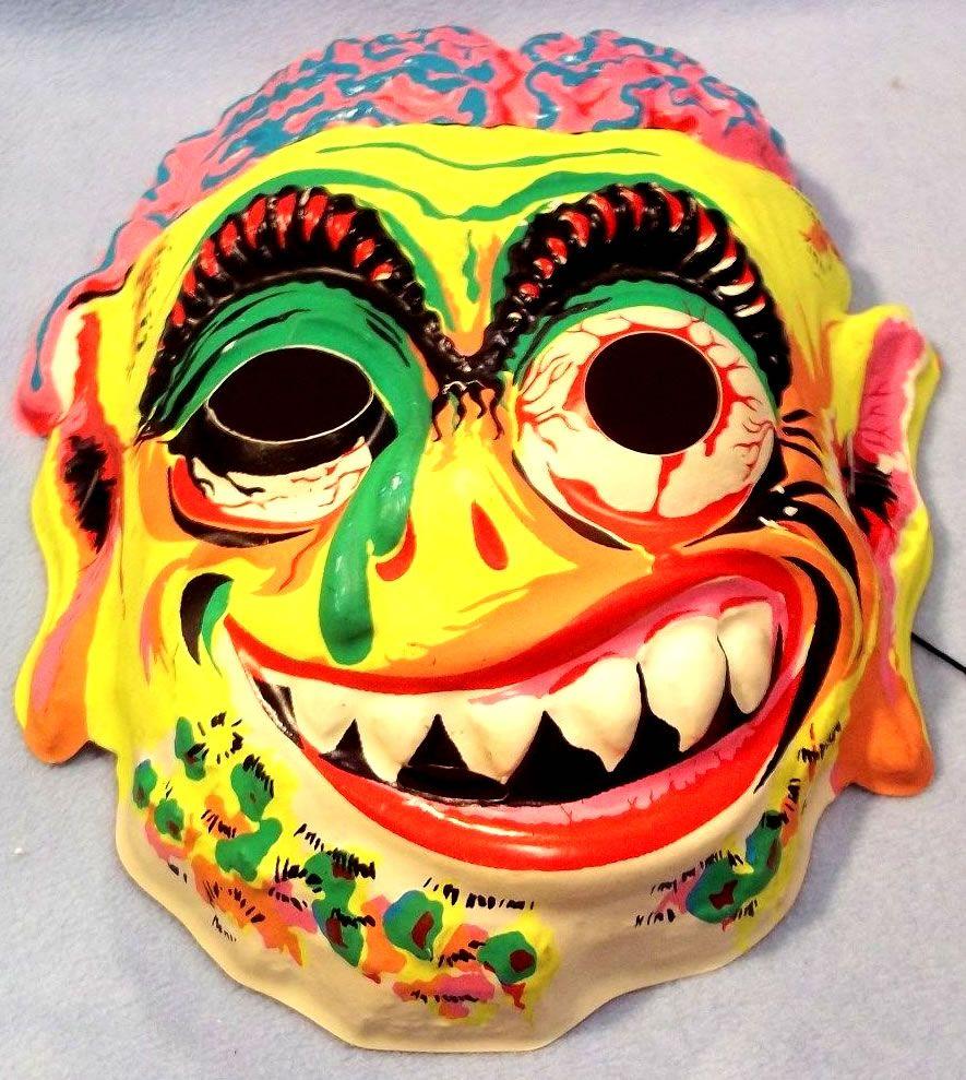 Groovy Weird-oh costume mask. | That 70s Halloween | Pinterest ...