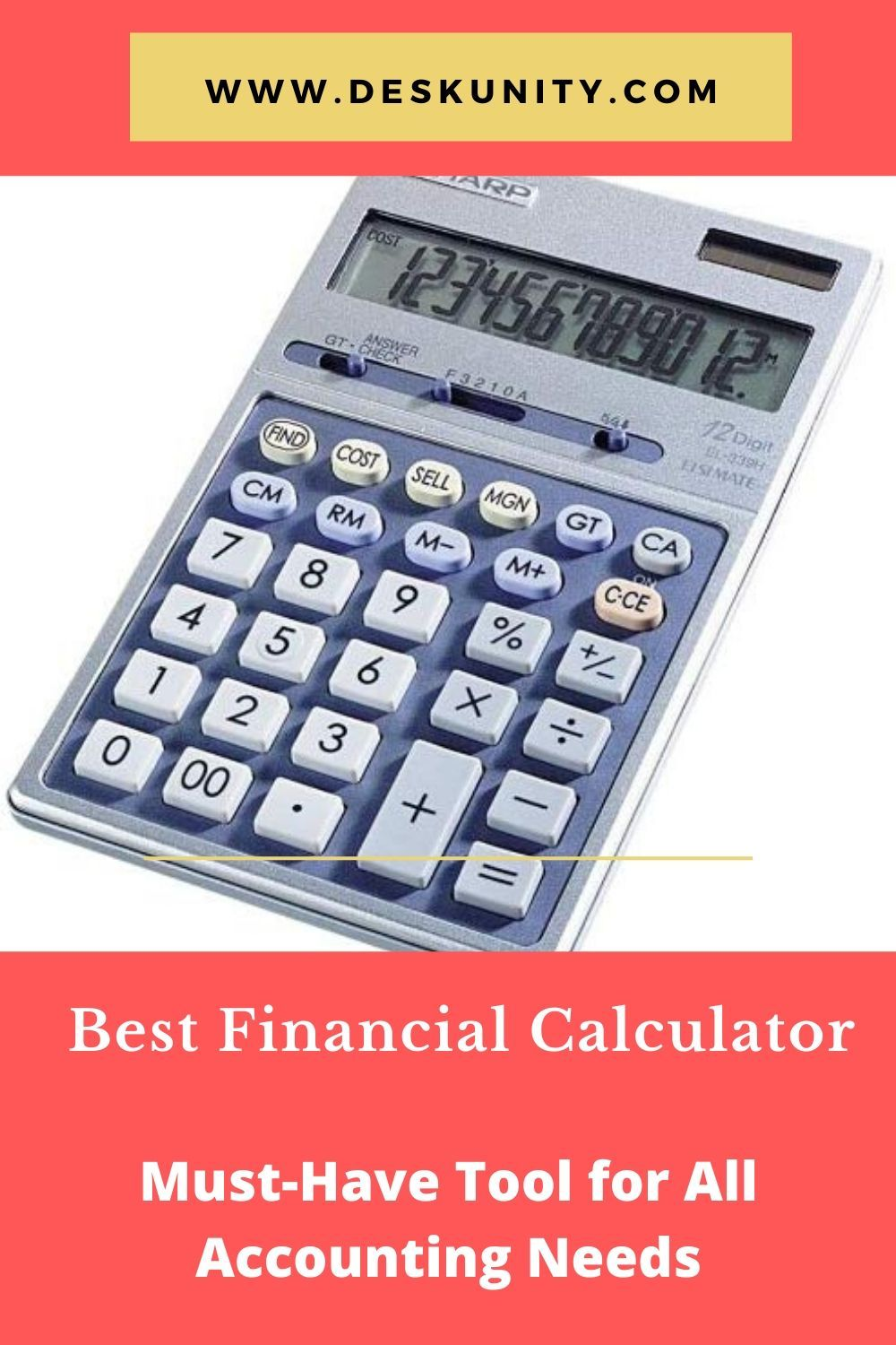 Top 10 Best Financial Calculator Of 2020 Must Have Tool For All Accounting Needs In 2020 Financial Calculators Calculator Must Have Tools