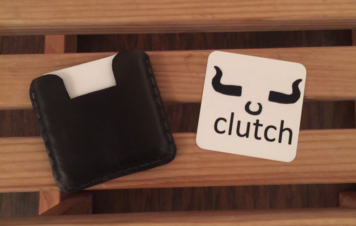 25 x 25 square business card holder by clutchleather on etsy https 25 x 25 square business card holder colourmoves Images