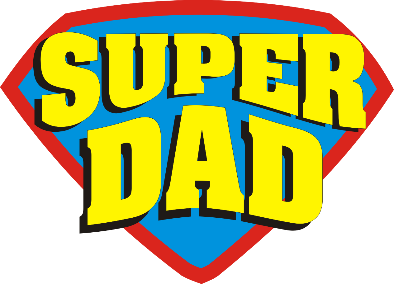 superhero dad logo printable Google Search (With images