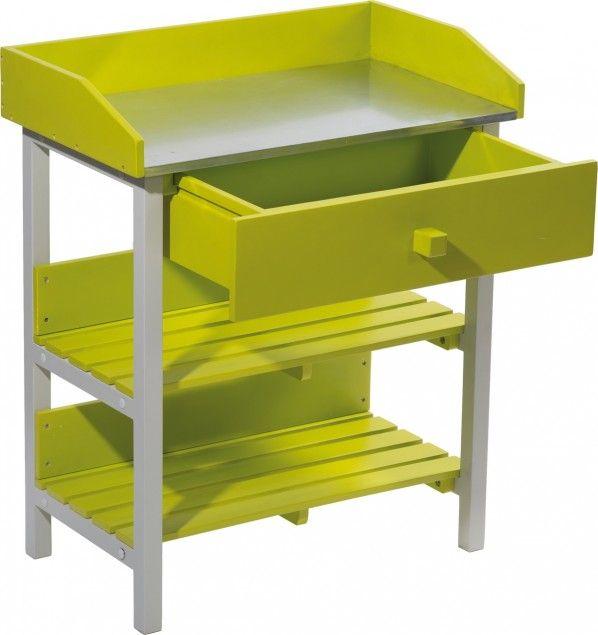 Table de jardinage burano my little jardin produits outils et mat riel products i love - My little jardin ...