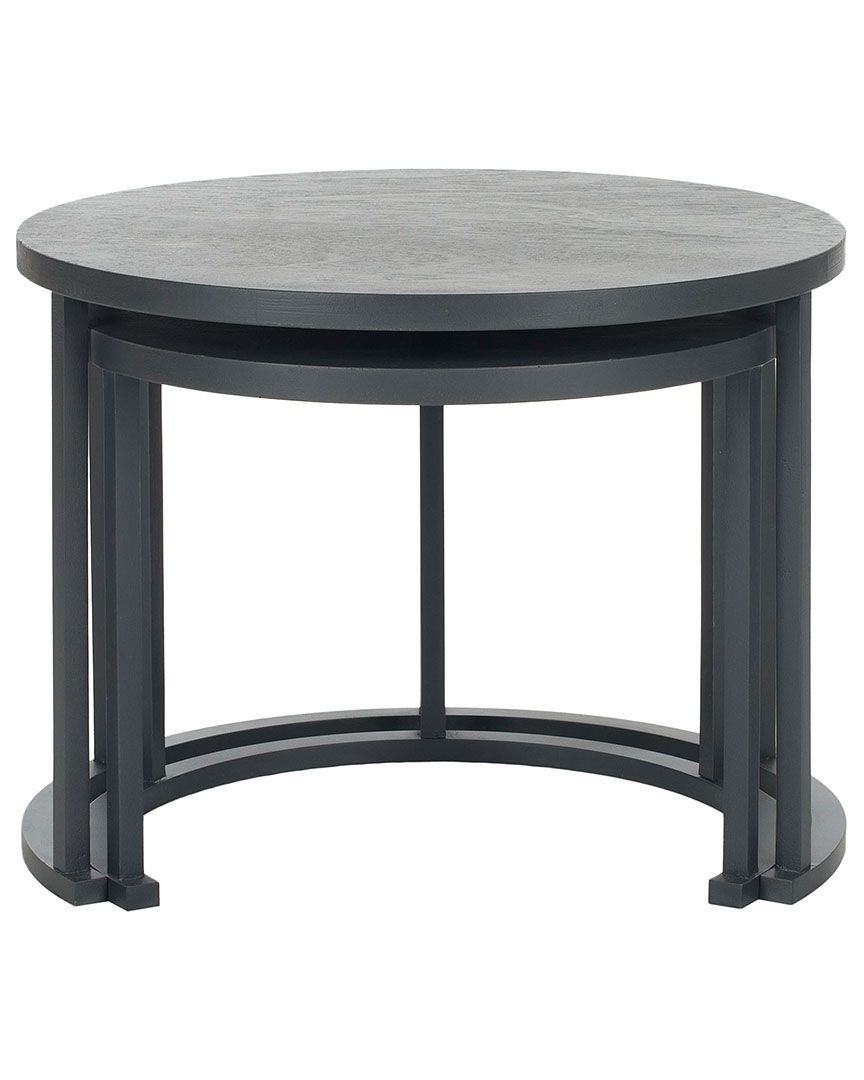 Exceptionnel Safavieh Set Of 2 American Home Chindler Nesting Tables Frame #TableHome  #Furniture