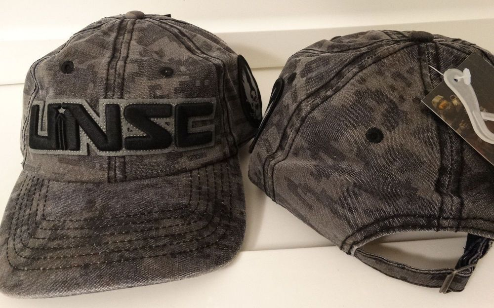 Halo 5 UNSC Guardians Camouflage XBox Adjustable Hat Nwt  Halo  BaseballCap bdafd0598767