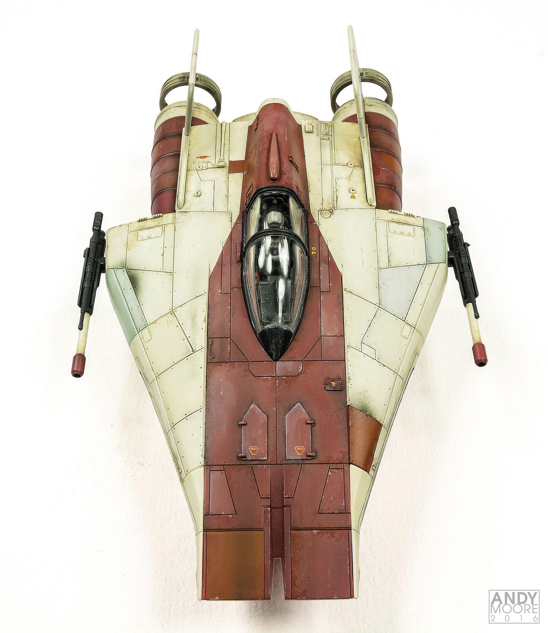 Rz 1 A Wing Interceptor: Boba Fett? Boba Fett!?
